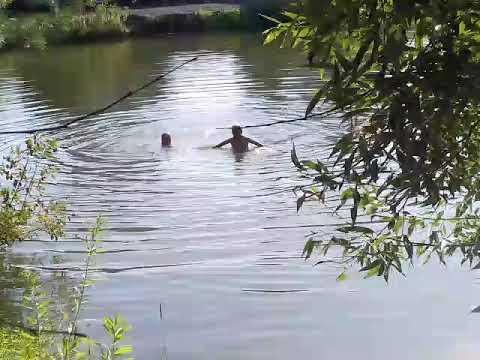 Голая купается пруду пруду видео порно зрелых