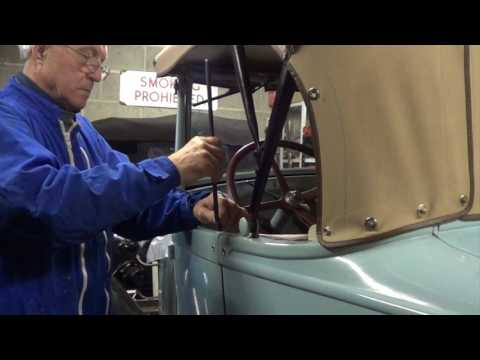 Fitting Ford Model A Side curtains - Update