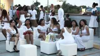 ICON All White Rooftop Party, fashion show, and fundraiser