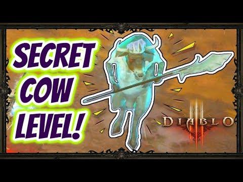Diablo 3   How To Access The Secret Cow Level