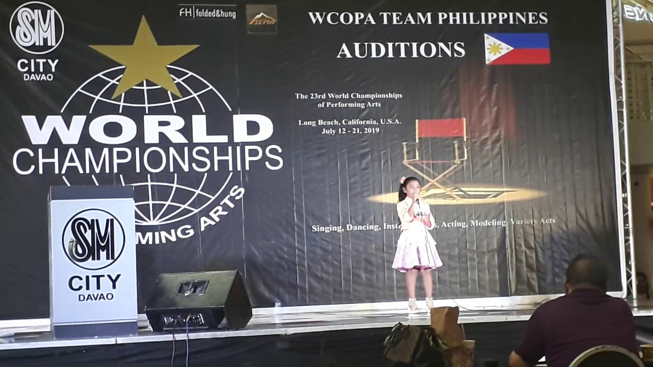 WCOPA 2018 audition