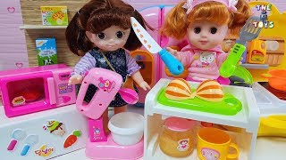 chef baby doll baking and cooking play toys