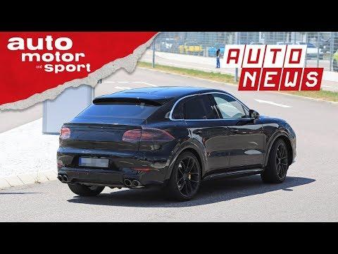 Porsche Cayenne Coupé (2019): Erlkönig des SUV-Coupés - NEWS I auto motor und sport
