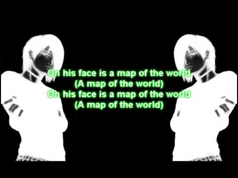30 Seconds To Mars Map Of The World.30 Seconds To Mars From Yesterday With Lyrics Youtube