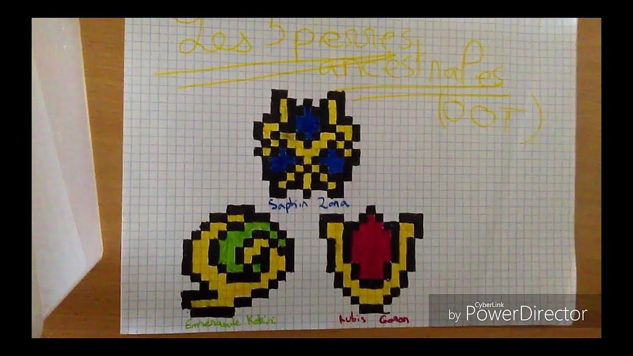 Tuto Pixel Art N7 Les 3 Pierres Ancestrales