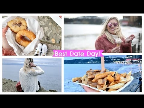 BEST DATE DAY! British Seaside! Hot Doughnuts! Packing More In - ad | EmTalks