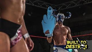 WCPW Built To Destroy Part 1 - El Ligero vs. Martin Kirby