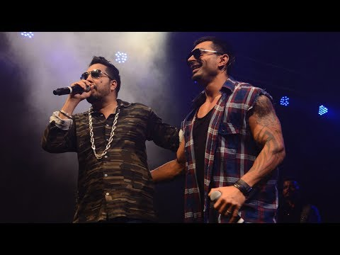 Mika Singh's Live Concert Feat. Karan Singh Grover In Mumbai
