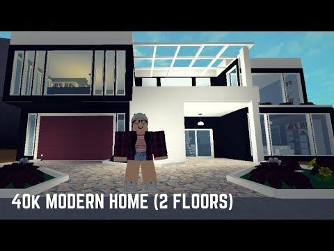 Roblox: Welcome to Bloxburg | 40K Modern Home (2 Floors!)