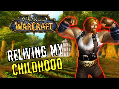 RELIVING MY CHILDHOOD! Vanilla World of Warcraft Leveling (Elysium Private Server)