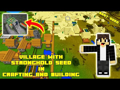 Village with Stronghold Seed in crafting and building |  Daosao gamers