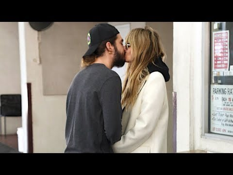 Heidi Klum And Tom Kaulitz Put On A Steamy Smooch Session For The Cameras