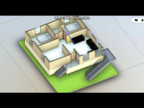 30X40 east face simplex house plan || 2 Bedrooms || Space ...