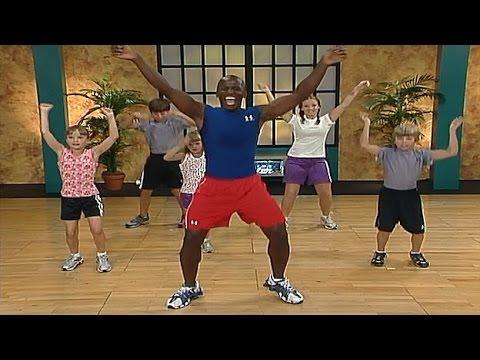 Fun Dance Exercises For Kids And Kids Fitness Workout On Video