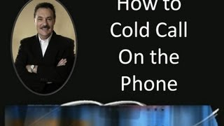 How to cold call on the phone