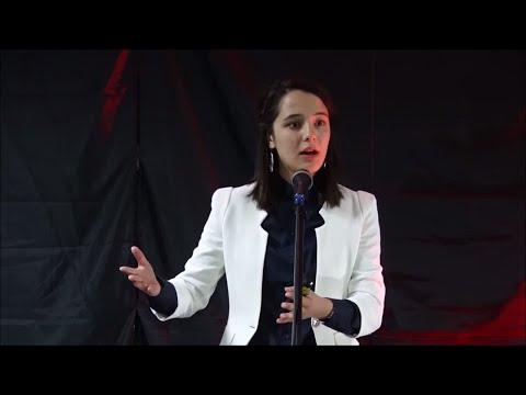 Deciding between the opportunities.   Mizhgona Khudodova   TEDxUniversityofCentralAsia