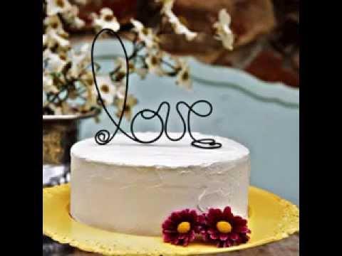 Small Wedding Cake Decorations YouTube