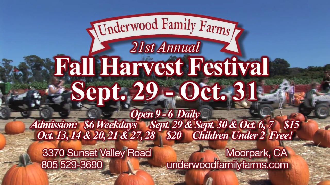 Fall Harvest Festival | Underwood Family Farms