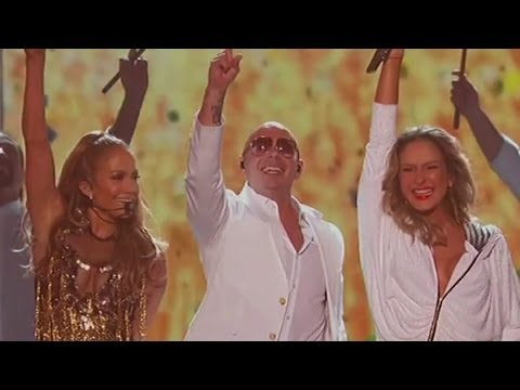 "Pitbull & Jennifer Lopez Sexy ""We Are One (Ole Ola)"" World Cup Performance Billboard Awards 2014"