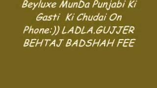 Beyluxe Munda Punjabi URF Rashid Ki gasti Phone par Galiya sun kar hasne wali