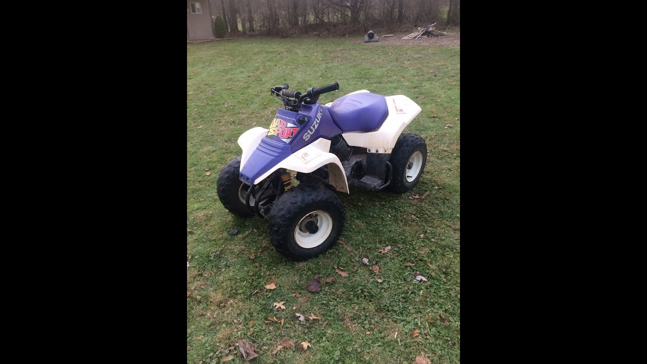 Suzuki Lt80 Quad Sport Start Up And Info Youtube Four Wheelers Atv Wiring Connections