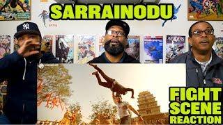 Sarrainodu Fight Scene Reaction