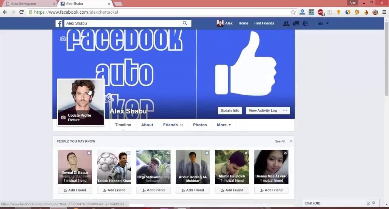 fake likes on facebook photos free online