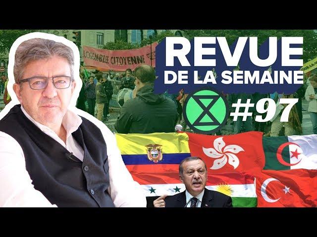 #RDLS97 - Équateur, Extinction Rebellion, guerre en Syrie : Erdogan attaque les Kurdes
