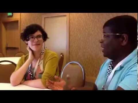 Geeking Out: Comic Con Interview w/Rebecca Sugar & Ian Jones-Quartey Steven Universe