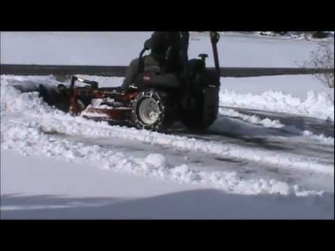 Zero Turn Snow plow