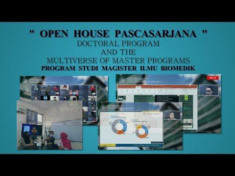 OPEN HOUSE PASCASRJANA DOCTORAL PROGRAM AND THE MULTIVERSE OF MASTER PROGRAMS MIB 2021