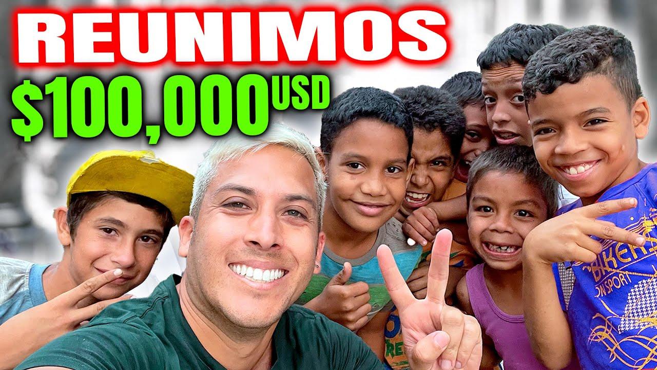 LOGRAMOS REUNIR $100,000 DÓLARES! 😃❤️| Alex Tienda ✈️