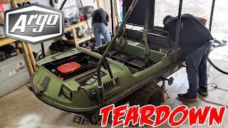 Amphibious Argo 8x8 Teardown