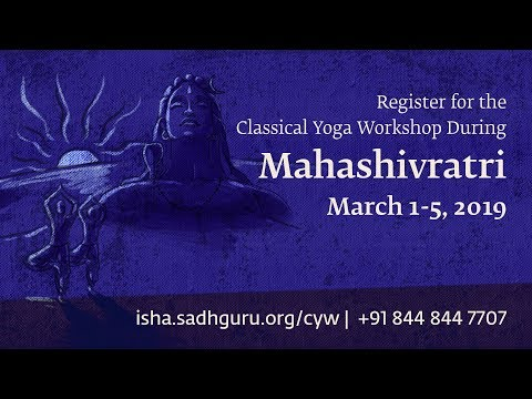 Learn Classical Yoga During MahaShivRatri - Mar 1-5