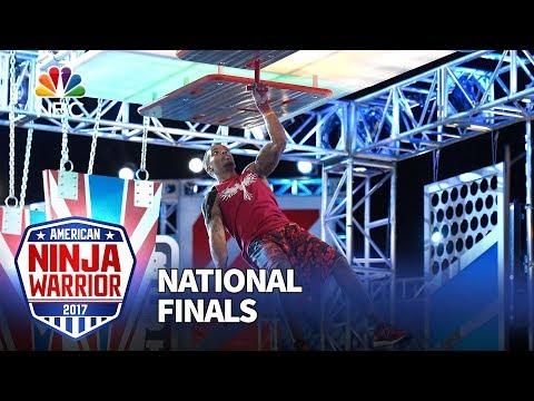 Najee Richardson at the Las Vegas National Finals: Stage 3 - American Ninja Warrior 2017