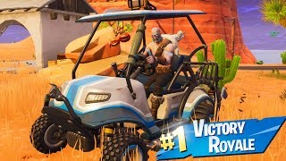 FORTNITE SEASON 5 - BATTLE PASS SKINS, NEW GOLF CART, & NEW MAP GAMEPLAY! (Fortnite Season 5)