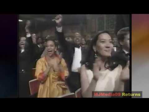 "'94  Michael Jackson says ""I am Innocent"" to False Accusations (NAACP Awards) HD1080i"