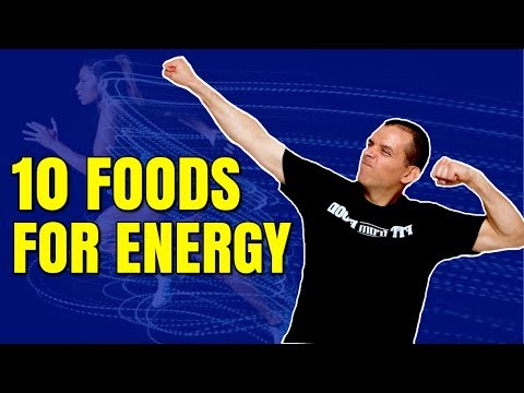 10 FOODS FOR LONG LASTING ENERGY / HEALTHY HACKS