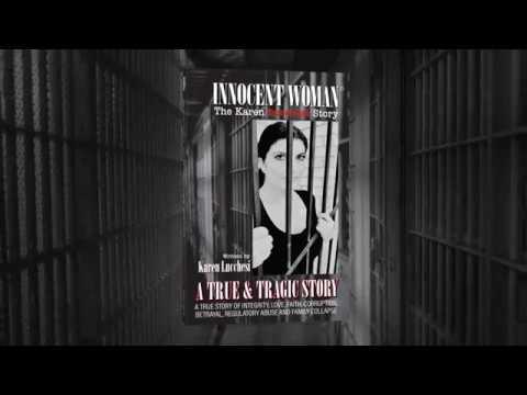 Innocent Woman The Karen Lucchesi Story Book Trailer Video - Wrongful Conviction Story - Видео онлайн