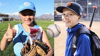 ⚾️FIRST BASEBALL AND SOFTBALL GAME of the Year 🥎 Video