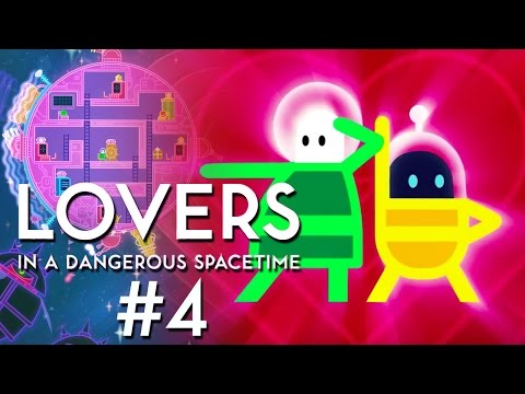 Lovers in a Dangerous Spacetime #4 – Bullethell!