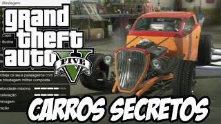 GTA V - Como pegar os carros secretos de colecionador de graça