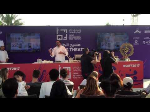 Sanjeev Kapoor I Live Cooking I Qatar Food Festival 2017