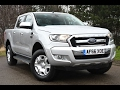 Used Ford Ranger Pick Up Double Cab Limited 2.2 TDCi 150 4WD Moondust silver 2016