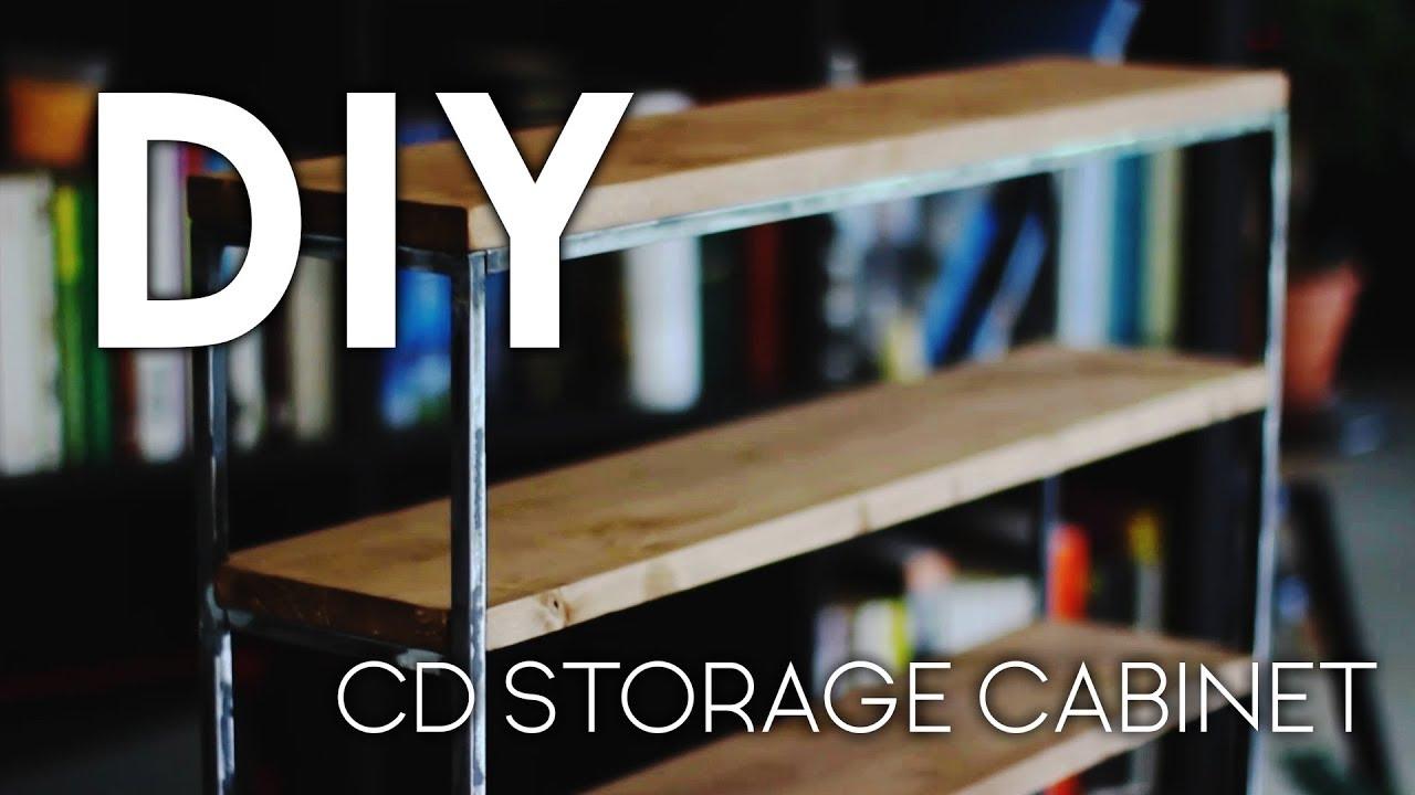 fascinating Diy Cd Storage Ideas Part - 19: DIY CD Storage Cabinet