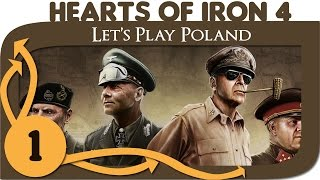 Hearts of Iron 4 - Let's Play Poland - Ep. 1 - HoI4 Gameplay