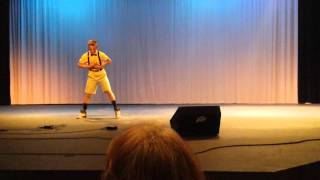 CHAIN HANG LOW(JIBS) REMIX talent show dance 2015