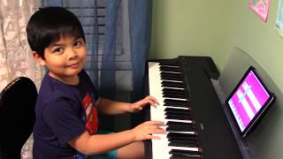 "6-Year-Old Renzo Plays ""7 Years"" Using Simply Piano by JoyTunes"