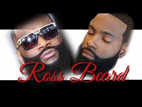Rick Ross Wave & Beard Cut (Barber tutorial)
