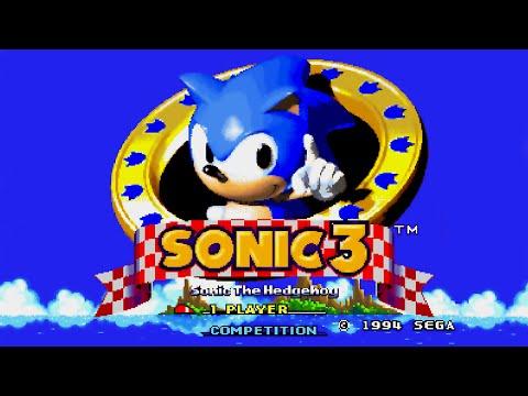Sonic the Hedgehog 3 - Sega Genesis - No Commentary